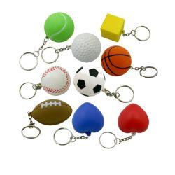 Promotion PU-Antistress-Ball mit Schlüsselanhänger