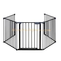 High-end Quaility декоративные современные литые Ограждения панели Home Depot поставщиков сад металлические литые детали черного оцинкованного металла верхней части панели ограждения для Austrilia