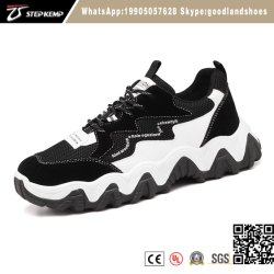 I pattini di sport di altezza degli uomini 4-5cm che pareggiano la maglia Trekking merlettano le scarpe da tennis in su funzionanti Footwears 9382 degli addestratori di modo