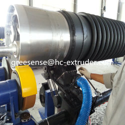 El plástico de HDPE de gran diámetro/PP Tubo de alcantarillado de bobinado helicoidal Krah extruir/Extusion Máquina/maquinaria