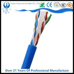 UL/ETL Cable UTP 1000FT grueso ECP CAT6 CAT5e 4 par trenzado El cable UTP Cat 6 Cable de red