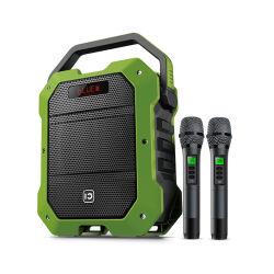 Audio senza fili di tecnologia di frequenza ultraelevata dell'altoparlante portatile 12V 5000mAh di karaoke di Shidu SD-K10