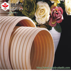 Поставщик Goody ПВХ-U водопроводные трубы двойные стенки из ПВХ трубы