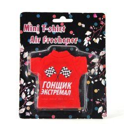 Рекламный мини футболка освежитель воздуха для автомобиля, висящих Car духи футболка с пульта управления (JSD-C0004)
