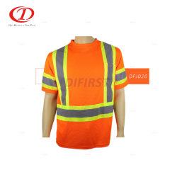 Vogel-Augen-hohe Sicht-reflektierendes Sicherheits-T-Shirt Dfj020