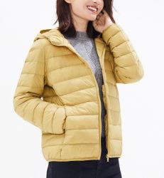 Diseño de prendas de vestir de moda mujer chaqueta casual y chaquetas de invierno y ultra ligera chaqueta para ropa deportiva y ropa de sport