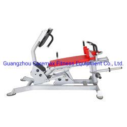 Placa de presión de carga de la pierna de la máquina de gimnasia
