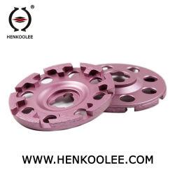 T는 구체 대리석 폴란드어를 위한 세그먼트에 의하여 소결된 컵 바퀴 또는 다이아몬드 공구를 타자를 친다