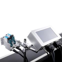 Tij промышленной струйной печати опрыскивания штриховой код машины