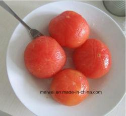 熱い販売の缶詰にされた皮をむかれたトマト