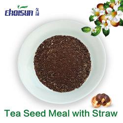 Pasto del seme del tè del fertilizzante organico di usda con paglia