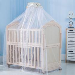 Nueva Zelanda importados de lujo de madera de pino Cuna de bebé cunas, Cama bebé