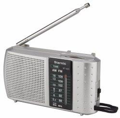 Suono libero portatile radiofonico di FM, radio Pocket con il funzionamento semplice, radio Pocket portatile di Am/FM con la cuffia Jack di 3.5mm