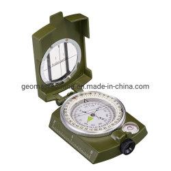 DC60-2A/6000 Geomaster Lensatic Kompaß/Pocket Kompaß/Militarycompass/russischer Kompaß mit Vorwahlknöpfen 360-Deg/6000-Mil und Schwingung-Dämpfung Flüssigkeit