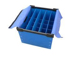 PP plegado corrugado Reciclado de plástico resistente caja de volumen de negocios
