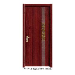 2019 Nuevo Diseño de panel de puerta de madera blanca