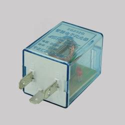 Electrónica azul transparente de intermitentes LED intermitente de relé de automoción de 24V.