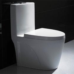Высокое качество двойной промывки из одного куска Siphonic Туалет туалет