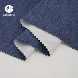 Espacio de Tc Kintted teñido de hilados de algodón poliéster tejido de bloqueo de las prendas de vestir