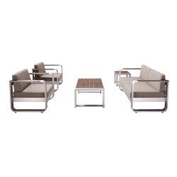 Maison moderne hôtel Leisuretouch Livingroom Lounge ensemble canapé d'angle de meubles de jardin en plein air