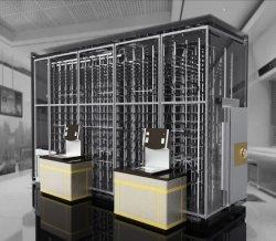 China OEM Caja de seguridad automático de Caja fuerte Caja de acero inoxidable para Bank Hotel