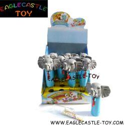بلاستيكيّة ضوضائيّة فيل سكّر نبات لعبة/مضحكة [تو/] تربيّة [تو/] [ديي] لعبة/حالة حبّ هبة/لعبة حيوانيّ ([كإكست13034-1])