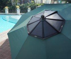 160 Вт WiFi USB AC DC Функция складной солнечной зонтик в сад отеля и на пляже