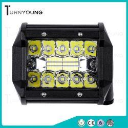 A luz de LED 12/24V 60W para fora de estrada com Barra de Luz de Trabalho do feixe no local