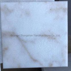 Calacatta mármore branco com textura de fundo padrão de Pedra Natural