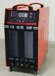 380V/500A, AC/DC tecnologia IGBT inversor, soldador máquina TIG para alumínio/TIG500PAC/DC