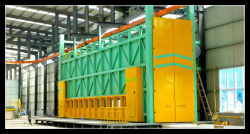 Strumentazione trattata del vapore chimico per l'impianto di galvanizzazione del TUFFO caldo