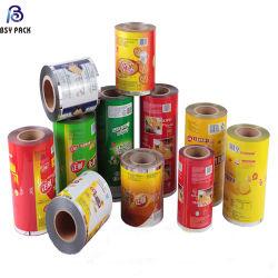 유연한 포장 향낭 롤필름을 박판으로 만드는 고품질 플라스틱 음식