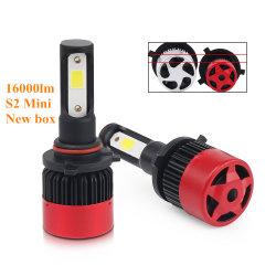 Nouveau Super Bright S2 Mini 16000LM Canbus de refroidissement par ventilateur COB Auto ampoules de phares H13 H11 9005 H4 H7 Voiture de lumière à LED