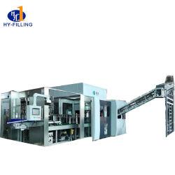 Llenado automático de agua potable embotellada equipos de la línea de la máquina de embalaje