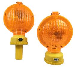 Road Barricade jaune clignotant LED Lampe d'avertissement de trafic