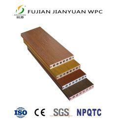 ASA-PVCの共押出し空の木製のプラスチック合成物WPCの屋外のフロアーリングのDecking