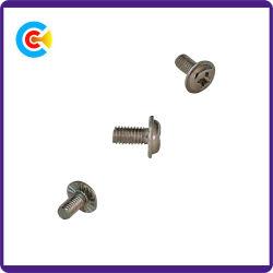 DIN и ANSI/BS/JIS Carbon-Steel/Stainless-Steel 4.8/8.8/10.9/оцинкованных креста на головку блока цилиндров с помощью винта для семян масличного подсолнечника