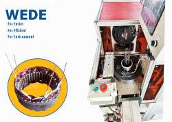 Bobinage automatique des bobines direct de la machine au stator de l'alternateur du générateur