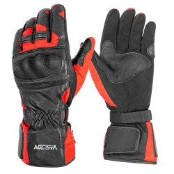 Touchscreen het Rennen van de Fietser van de Motorfiets van de Motor Waterdichte Handschoenen met het Gewricht van de Vezel van de Koolstof