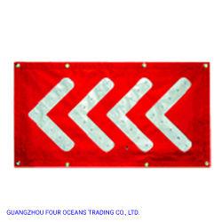 Бесплатный образец портативные магнитные трафик безопасности дорожного движения под руководством со знаком системной платы