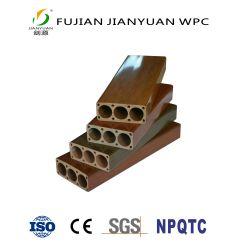ASA-PVC Co-Verdrängte AußenGeländer-Bambuszaun des zusammengesetzten Material-WPC