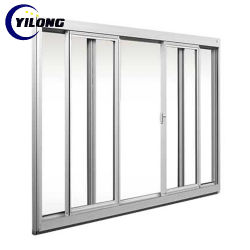 Cursore orizzontale di alluminio che scivola Windows