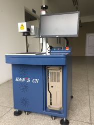 Hans machine de marquage au laser à fibre les pièces électroniques/électriques de l'industrie de produits/C/Auto Pièces et matériel d'outils/périphérique/PP/PPR/PVC/PE/plastique