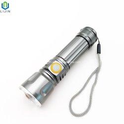 Alto brillo con USB recargable Linternas LED