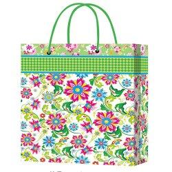 Fleur superbe imprimé Papier Art décoratif des sacs-cadeaux pour les bonbons