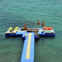 Vanace Plastikwasser HDPE Ponton-sich hin- und herbewegendes Dock-Brücke