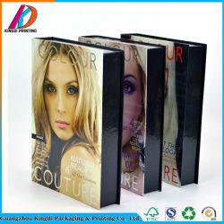 Design de Moda 6 Cor Paleta Eyeshadow Caixa de cosméticos de papel com espelho