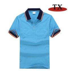 Camicia 100% di polo all'ingrosso di colore dell'inserto della camicia di polo dell'uomo del cotone di alta qualità