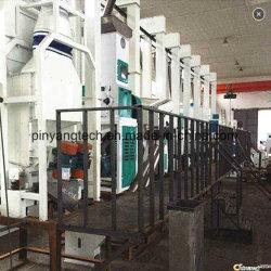 30-50tons de volledige Gemakkelijke Machines van de Rijstfabrikant van de Verrichting