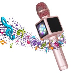 A Magia sem fio Microfone de mão Microfone Karaoke Player E101 para cantar